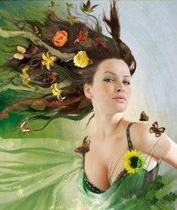 mulher da natureza