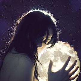 abraçar sombras lua