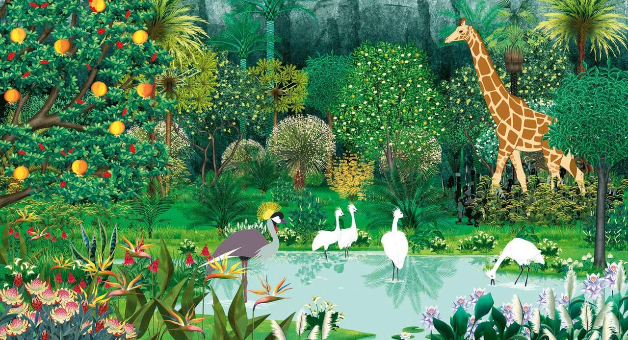 Kirikou e os animais selvagens