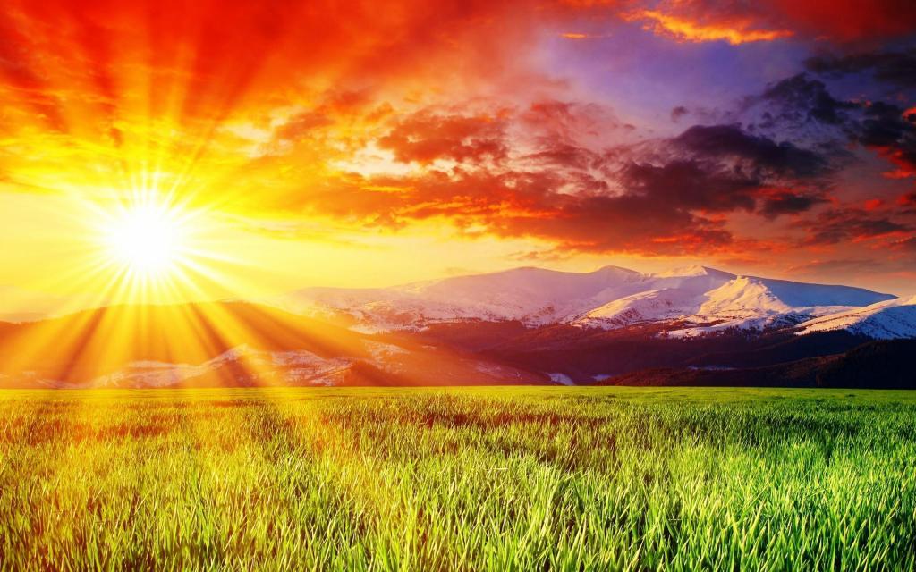 raios do sol