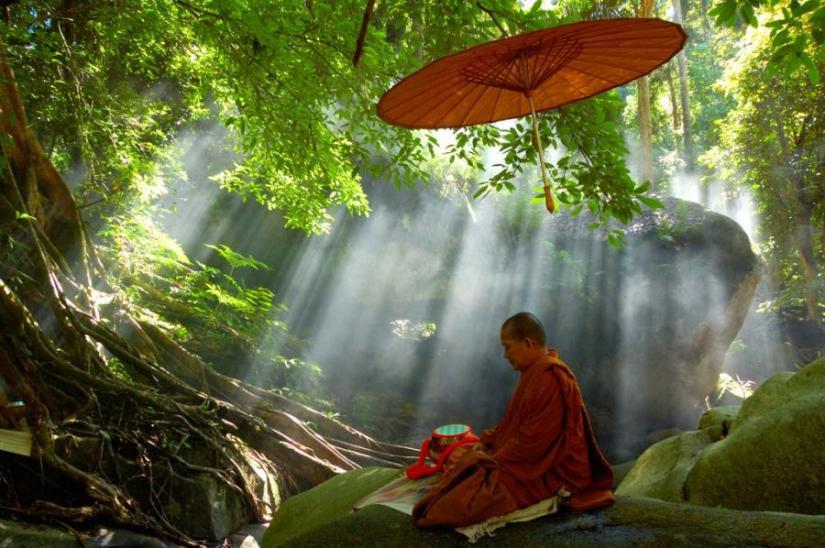 silêncio monge