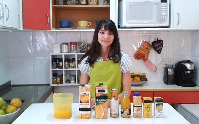 Sucos laranja Francine