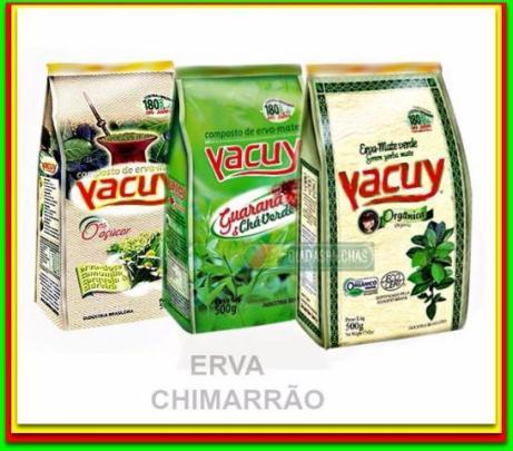 Ervas-mate Yacui Orgânica