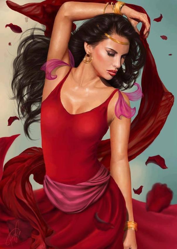 Cigana_red dress