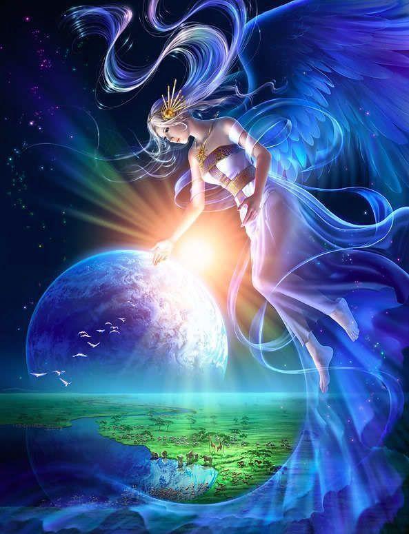 Angel_protect earth 1