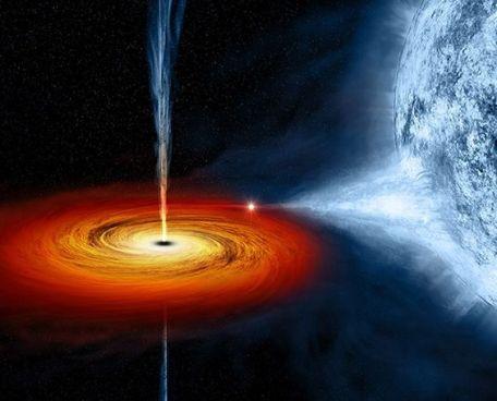 Galáxia_Luz_Buraco negro_
